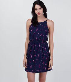 Vestido feminino  Sem manga  Estampado  Marca: Blue Steel  Tecido: viscose  Modelo veste tamanho: P         COLEÇÃO INVERNO 2016         Veja outras opções de    vestidos femininos.