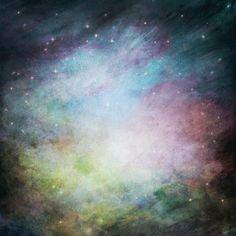 fondo de cielo estrellado