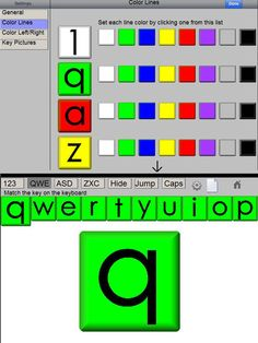 Online typing activities from DigiPuzzle (not an app