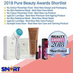 Nu Skin Products, Pure Products, Pure Beauty, Beauty Care, Beauty Awards, New Skin, New Face, Bossbabe, Feeling Great