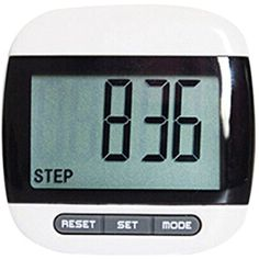 GQMART Multifunction Lcd Pedometer Walking, Step, Distance, Calorie Calculation Counter -Black >>> Check out this great product. (This is an affiliate link and I receive a commission for the sales) #HealthMonitors