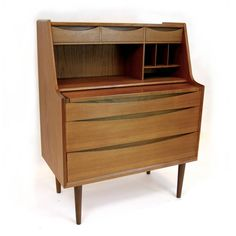 desk vanity   Arne Vodder Secretary or Vanity Desk For Sale at 1stdibs