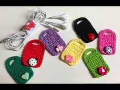 Aprenda Como Fazer Porta Fone de Ouvidos de Crochê - Priscila Luz - Amo Fazer Crochê