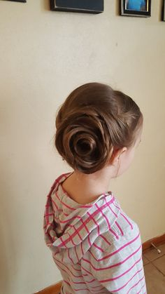 Hair Rose Updo Style