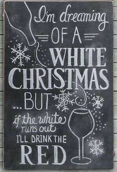 My kind of white christmas;)