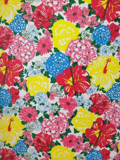 Lilly Pulitzer Heritage Floral - by far my favorite Lilly pattern.
