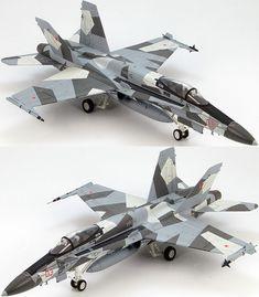 Hobby Master 1/72 McDonnell Douglas F/A-18A+ BuNo. 162909, VFC-12 Splinter HA3516