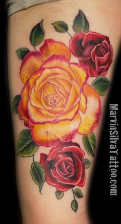 Marvin Silva - Roses Tattoo