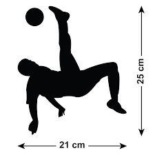 Resultado de imagem para soccer player silhouette