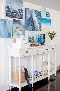 Coastal Bedrooms, Coastal Living Rooms, Coastal Cottage, Coastal Homes, Coastal Style, Coastal Decor, Coastal Quilts, Seaside Home Decor, Coastal Colors