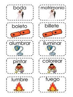 This is a memory card game for synonyms in Spanish . Has 25 pairs, each card has a picture and a word the match will be the synonym with the same picture. The last page is label you can print in the back of the card. Spanish Grammar, Spanish Language Learning, Teaching Spanish, Kindergarten Graduation Songs, Supply Side Economics, Personal Injury Protection, Spanish Activities, Adult Children, Social Science
