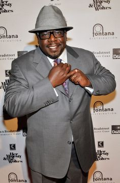 Cedric the Entertainer arrives for a preview of his 'Who Ced' hat line during the MAGIC show at the Mandalay Bay Resort Casino on February 14 2011 in...
