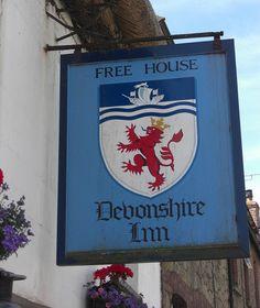 Devonshire Inn pub sign Sticklepath West Devon | Flickr - Photo Sharing!