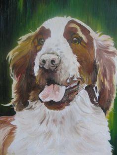 Springer Spaniel Painting at ArtistRising.com