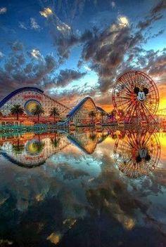 Disney Land Boardwalk, Anaheim, CA