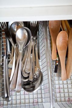 Smart Storage Ideas For Kitchen Utensils: 15 Examples From Our Kitchen Tours