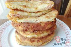 Recept Šunkovo sýrové placky - skvělá blesková večeře, při které nepotřebujete váhu Kefir, Snacks Für Party, Ciabatta, Bread Rolls, Crepes, Finger Foods, Main Dishes, French Toast, Sandwiches