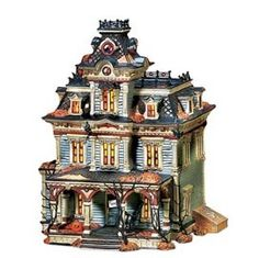 Dept 56 Snow Village Halloween Grimsly Manor - I don't  think I have this one! LOL Everything is in storage!