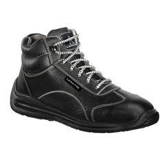 Travail Bottes s3 Sécurité Bottes Travail Chaussures Acier Capuchon Marron brpeak