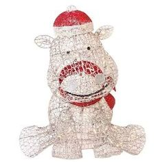the games factory 2 hippopotamus and animal - Christmas Hippo Outdoor Decoration