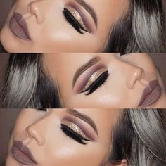 Big parties and events coming up? Of course, your calendar must be filling up with some really nice events as the New Year is right around the corner! Check out these amazing eye makeup ideas for New Year's Eve!! #colorfulcutcrease