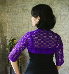 Lots of Links for Free Crochet Shrug Patterns Original - JoBSPapa.com