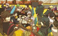 Tags: Fanart, Sengoku Basara, Date Masamune (Sengoku Basara), Sanada Yukimura (Sengoku Basara), Pixiv, Kasuga, Motochika Chosokabe (Sengoku ...