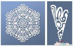 Virtual Snowflake Creator - Cut 6