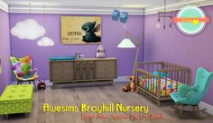 My Sims 4 Blog: Objects - Nursery
