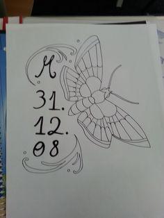 Motte als Tattooidee