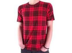 plaid t shirts - NICE