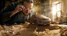 Car Wood modeling