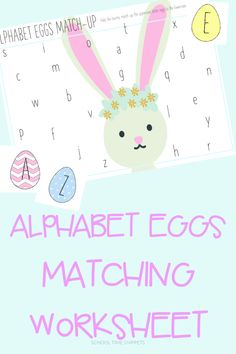 ABC Eggs Uppercase & Lowercase Letter Matching | School Time Snippets Letter Recognition Games, Egg Card, Letter Matching, Uppercase And Lowercase Letters, Letter A Crafts, Alphabet Activities, Play To Learn, Literacy Activities, Lower Case Letters