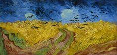 """""""Campo di grano con volo di corvi"""", Vincent van Gogh, 1890. Olio su tela, Van Gogh Museum di Amsterdam"""