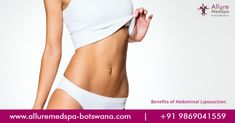 Abdominal liposuction is the process of performing liposuction to your abdomen.