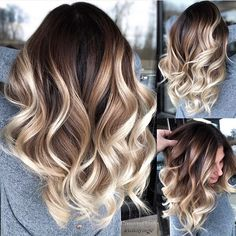 nice 20 Balayage Hairstyle Trends With Highlight Variants – – Hairstyles – Hairstyles 2019 CONTINUE READING Shared by: best_hairstyles Brown Hair Balayage, Brown Blonde Hair, Hair Color Balayage, Hair Highlights, Balayage Hairstyle, Darker Blonde, Balayage Hair Brunette Long, Ombre Curly Hair, Grey Hair