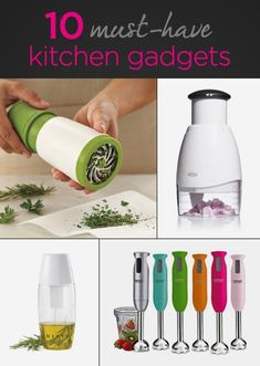 Make cooking fun and simple with these 10 must-have kitchen gadgets #Gift