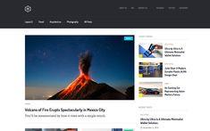 9. Press – Blog Website Template Blog Websites, Magazine Website, Grid Layouts, Web Design Inspiration, Website Template, Tool Design, Free Design, Templates, Stencils