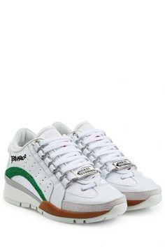 Dsquared2 Dsquared2 Sneakers 551 aus Mesh, Leder und Veloursleder &#8211…