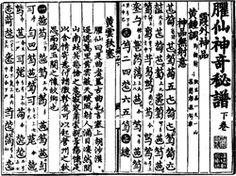 Chinese Guqin notation  Musical notation - Wikipedia, the free encyclopedia