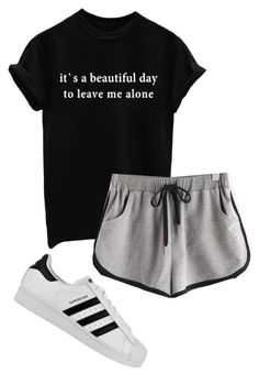 """yes"" by allybean331 ❤ liked on Polyvore featuring adidas"