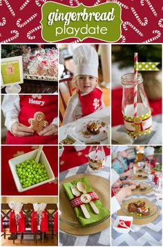 Ok, so this is a great holiday party idea, but if this is for a Playdate what the heck do you do to top it for a bday party?    CUTEST Gingerbread Holiday Party Playdate!