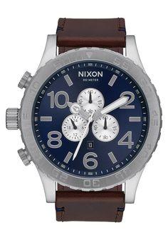 51-30 Chrono Leather   Men's Watches   Nixon Watches and Premium Accessories