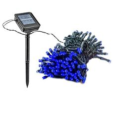 55 Foot Solar Powered Outdoor Christmas Holiday String Lights with 150 Blue LED Reusable Revolution,http://www.amazon.com/dp/B00A41LBQW/ref=cm_sw_r_pi_dp_ik6Ftb0BEDAD9JFY