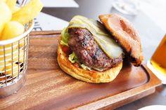 Dane's Yard Kitchen Review - Beef Burger