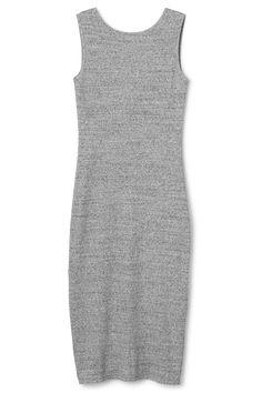 grey melange dress