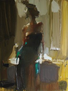 "Iryna Yermolova; Oil 2013 Painting ""Alexandra"""