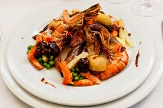 Japchae, Shrimp, Meat, Ethnic Recipes, Food, Beef, Meal, Essen, Hoods