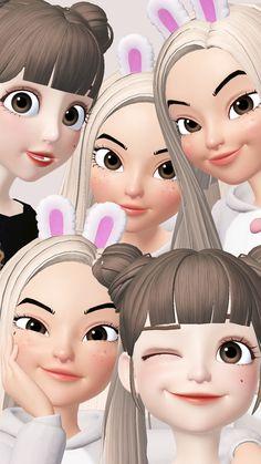 Avatar 3d, Bff Drawings, Hijab Cartoon, Jungkook Fanart, Cute Notebooks, Cute Girl Wallpaper, Cool Cartoons, Anime Art Girl, Girl Cartoon