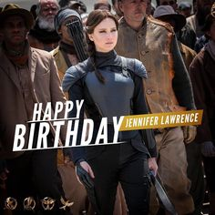 """2,500 Likes, 28 Comments - The Hunger Games (@hungergameske) on Instagram: """". HAPPY BIRTHDAY TO JENNIFER LAWRENCE!! ❤️❤️❤️ Wish her a very very happy birthday below!"""""""